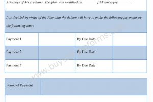 Bankruptcy Order Forms