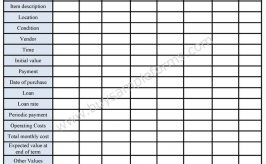 inventory tracking form