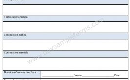 General Contractor Forms