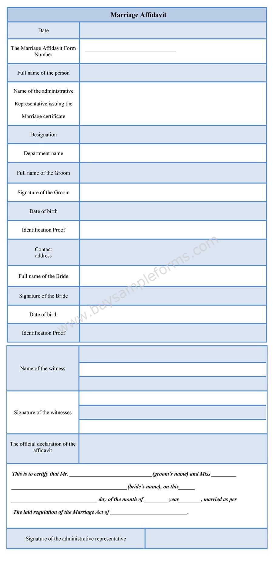 Marriage Affidavit Form Affidavit Of Marriage Form Sample Marriage Affidavit  Form Marriage Affidavit Form Address Affidavit Sample Address Affidavit  Sample  Address Affidavit Sample