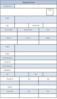 Requisition Form Format