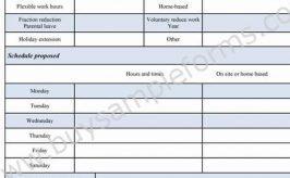Job Proposal Form Template