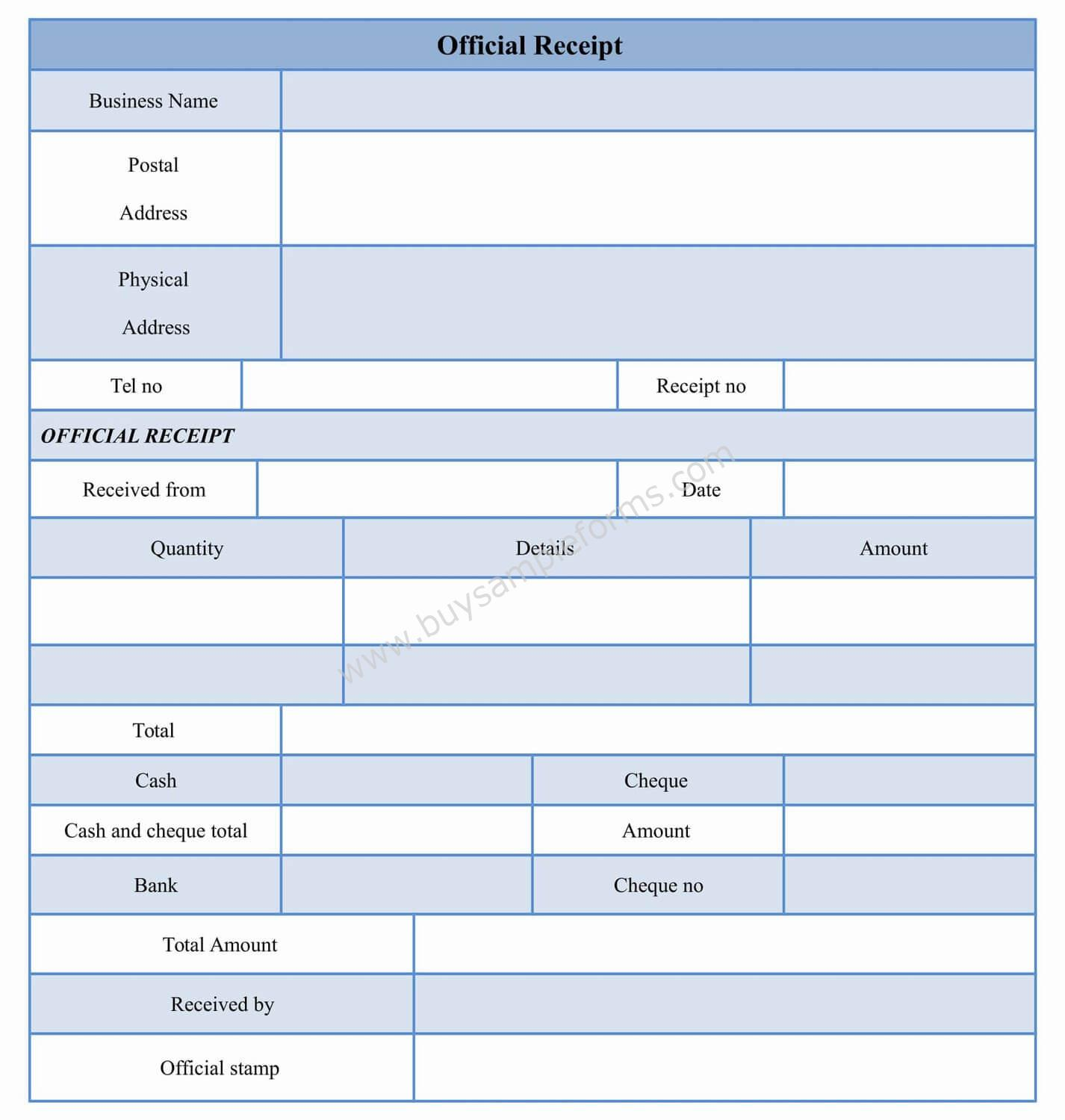 Official receipt form template word download easy to edit official receipt form template at only 300 saigontimesfo