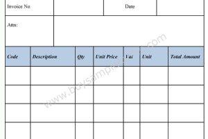 Free Invoice Form