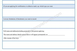 Intellectual Property Office Application Form