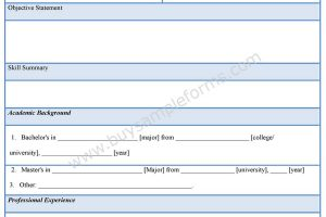 Business Sale Application Form