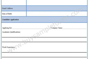 Schedule A Disability Form Template