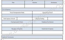 Business Reimbursement Form