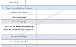 Labcorp Requisition Form Template