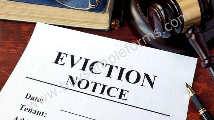 Sample Eviction Forms - Eviction Notice Form Template