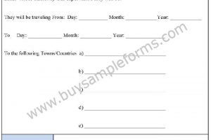 School Trip Consent Form Template – Consent Form Format