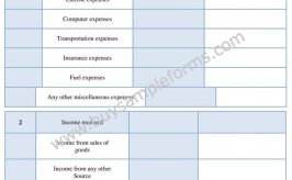 Printable Representative Payee Accounting Form Online Word/PDF