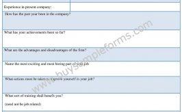 Management Performance Appraisal Form Template, Sample Doc