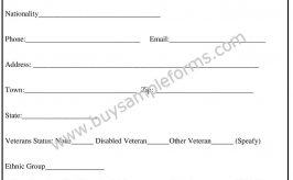 Work Authorization Form Template – Printable Word Format